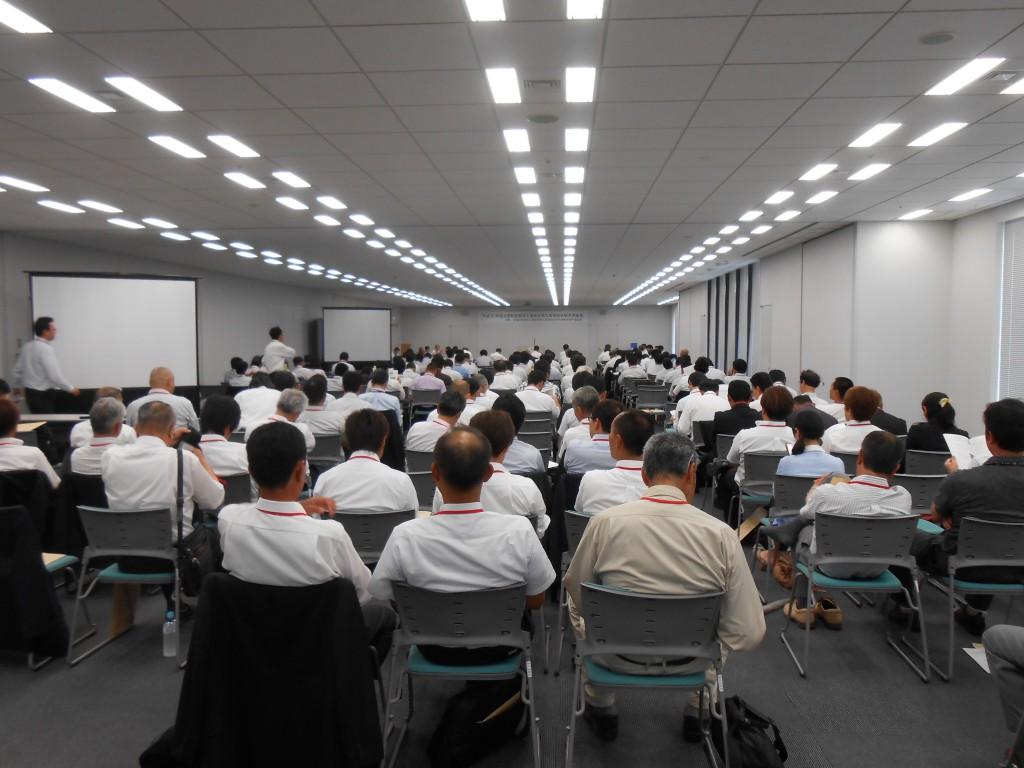 満席の発表会場